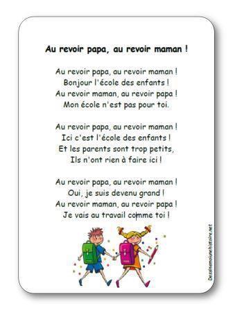 Image de Chanson « Au revoir papa, au revoir maman » de l'album Pakita, la maîtresse magique