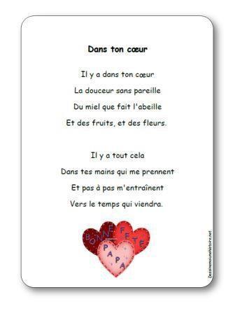 Image de Poésie « Dans ton cœur »