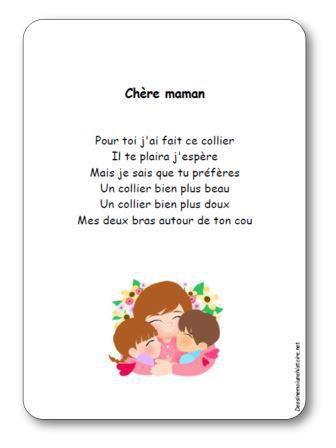Image de Poésie « Chère maman »