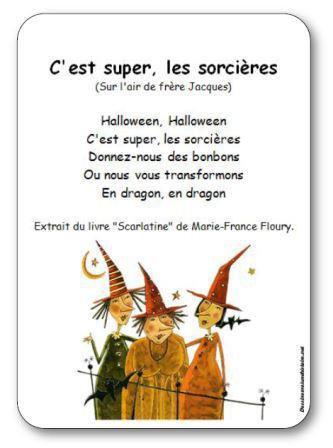 Image de Comptine « C'est super, les sorcières » de Marie-France Floury