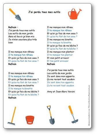 Image de « J'ai perdu tous mes outils » d'Anny et Jean-Marc Versini