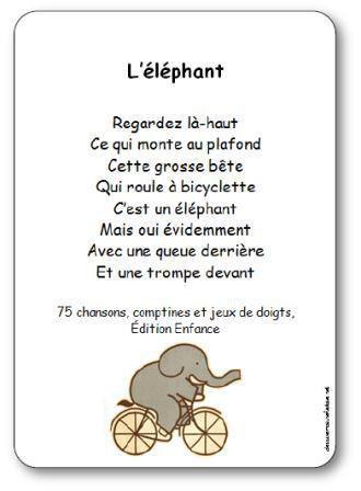 Image de Comptine à gestes « L'éléphant »