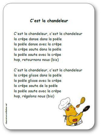 Image de Comptine « C'est la chandeleur »