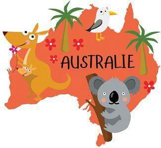 Image de Chansons, comptines et poésies autour de l'Australie : kangourous, koalas…