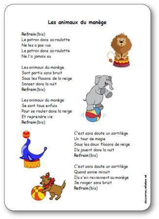 Image de « Les animaux du manège », une chanson de Pierre Chêne