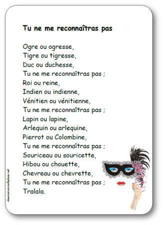 Image de Poésie « Tu ne me reconnaîtras pas »
