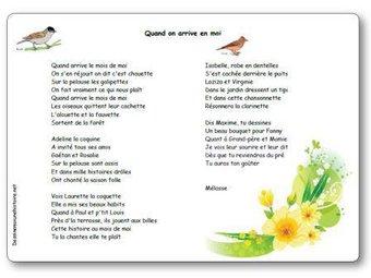 Image de « Quand on arrive en mai », une chanson de Mélasse