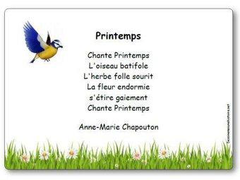 Image de « Printemps », une poésie d'Anne-Marie Chapouton