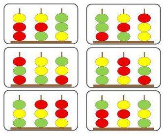 Image de Fiches pour travailler avec des abaques en maternelle