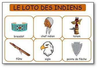 Image de Le loto des Amérindiens