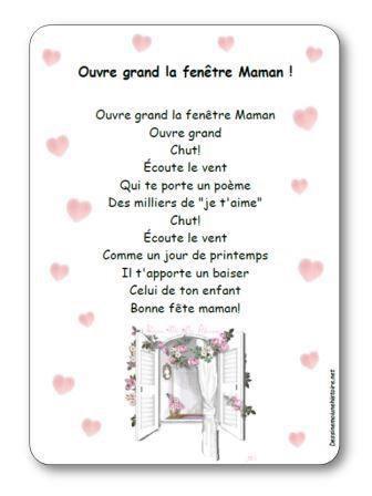 Image de Poésie « Ouvre grand la fenêtre maman ! »