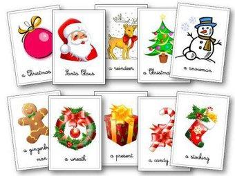 Image de La fête de Noël en anglais