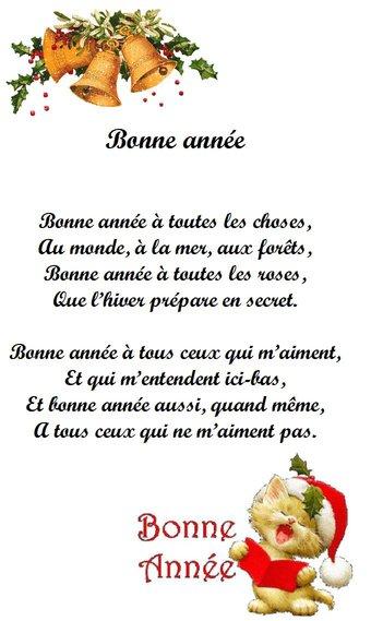 Image de « Bonne année », une poésie de Rosemonde Gérard