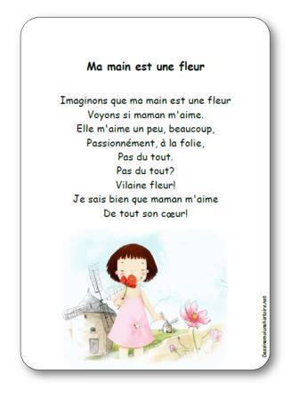 Image de Chanson à gestes « Ma main est une fleur »