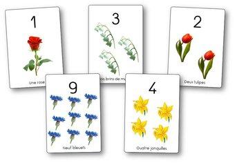 Image de Affichages des nombres de 1 à 10 et de 1 à 20
