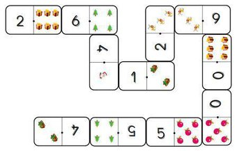Image de Les dominos de Noël