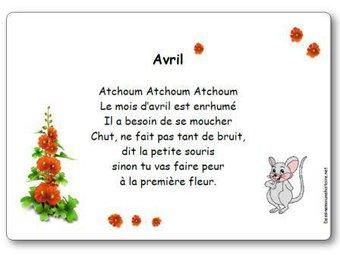Image de Comptine « Avril »