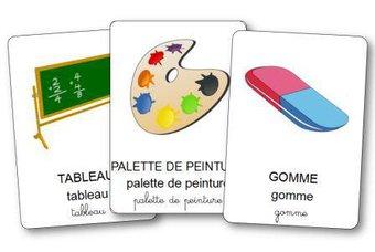 Image de Imagier du matériel scolaire