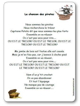 Image de La chanson des pirates