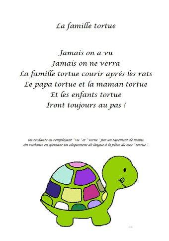 Image de Comptine « La famille tortue »