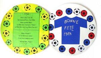 Image de Une carte en forme de ballon de football