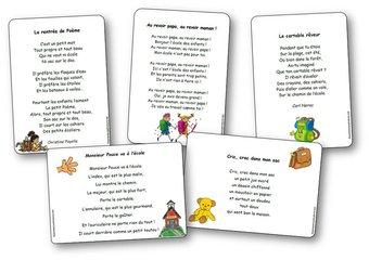 Image de Chansons, comptines et poésies sur la rentrée des classes et sur l'école