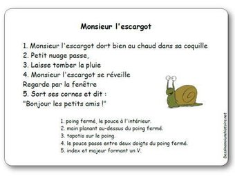 Image de Comptine « Monsieur l'escargot »