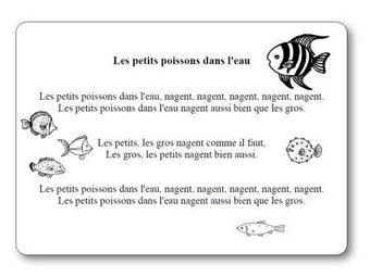 Image de Comptine « Les petits poissons dans l'eau »