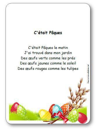 Image de Comptine « C'était Pâques »