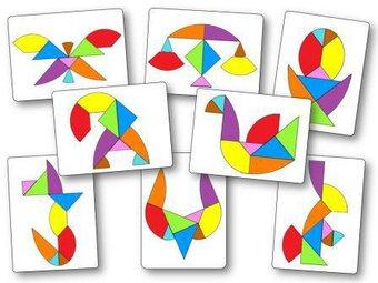 Image de Tangram œuf : 48 modèles à imprimer