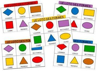 Image de Le loto des formes et des couleurs