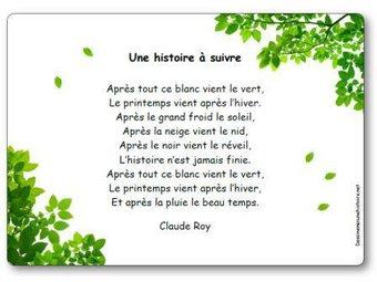Image de « Une histoire à suivre », une poésie de Claude Roy