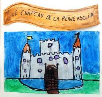 Image de Activités et productions en arts visuels autour du thème des châteaux forts