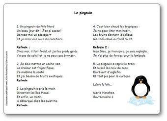 Image de « Le pingouin (du Pôle Nord) » de Marie Henchoz