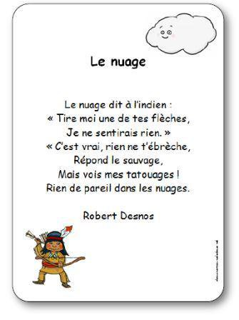 Image de « Le nuage », une poésie de Robert Desnos