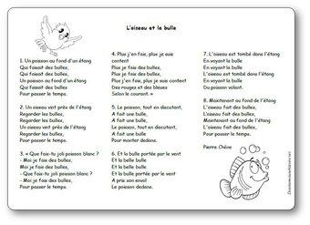 Image de « L'oiseau et la bulle », une chanson de Pierre Chêne
