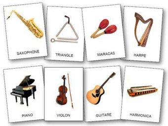 Image de L'imagier des instruments de musique
