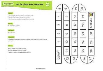 Image de Jeu mathématiques : jeu de piste avec nombres