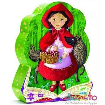 Image de Puzzle conte: le petit chaperon rouge
