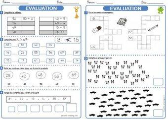 Image de Evaluation de numération - 1ère période