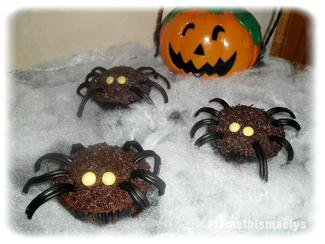 Image de Recette des araignées en chocolat d'Halloween