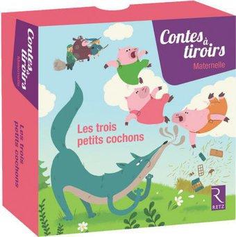 Image de Les trois petits cochons - Contes à tiroirs