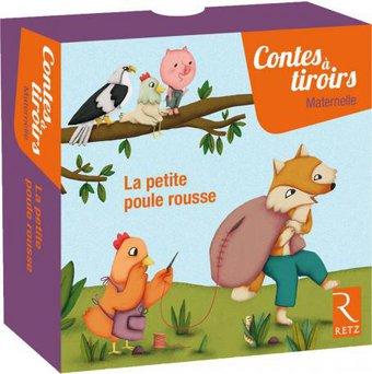Image de La petite poule rousse - Contes à tiroirs