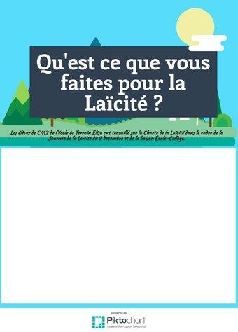 Image de De la Charte de la Laïcité à la journée du 9 décembre
