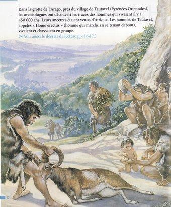 Image de La préhistoire Les débuts de l'humanité