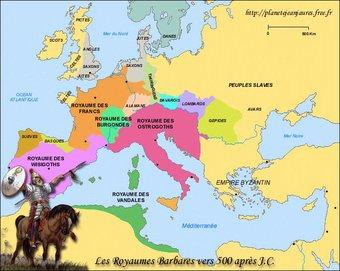 Image de Période2- Des grandes migrations aux Carolingiens