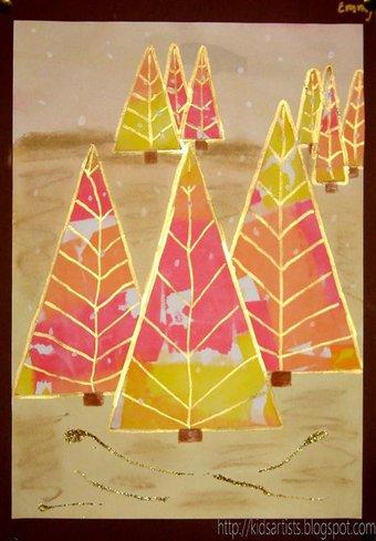 Image de L'arbre sous la neige