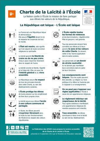 Image de la Charte de la Laïcité