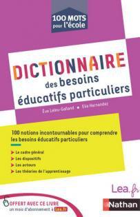 Image de Dictionnaire des besoins éducatifs particuliers - Édition 2017