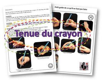 Image de Comment tenir le crayon